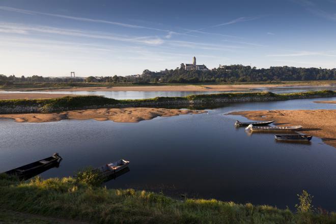 St florent_vue depuis la Loire_©J.-P. Berlose