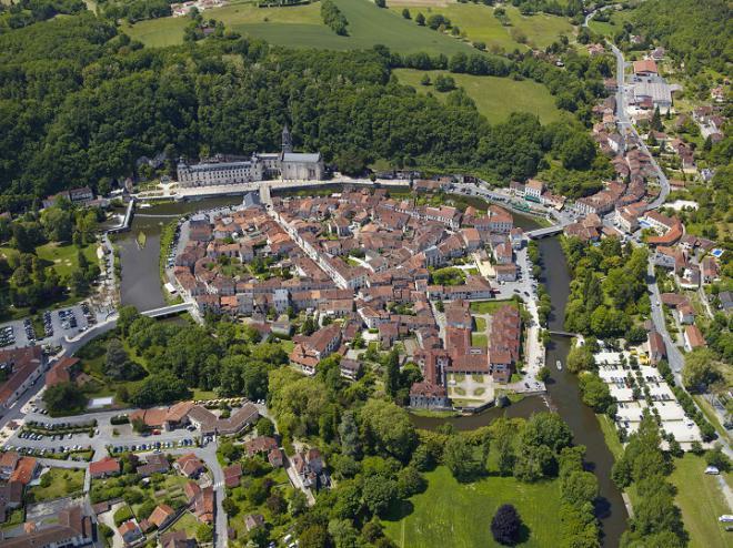 Vue aérienne - crédit photo : L'Europe vue du Ciel
