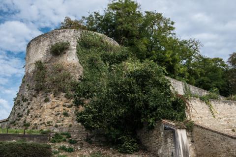 Vestiges de l'ancien château