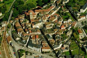 Vue générale Eymoutiers - Crédit photo : mairie d'Eymoutiers