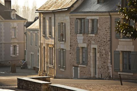 Blaison-Gohier_rue principale <sup>©</sup>J.-P. Berlose