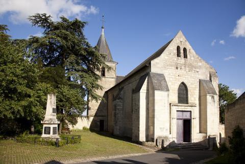 Le Coudray-Macouard_l'église <sup>©</sup>J.-P. Berlose