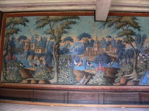 Savennières_salle des toiles peintes <sup>©</sup>Commune de Savennières