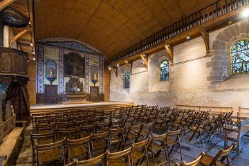 Eglise Treignac crédit photo : Bruno Ferignac