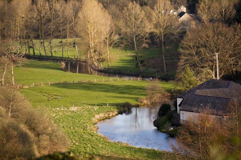 Chailland_Vue sur la campagne <sup>©</sup> J.-P. Berlose