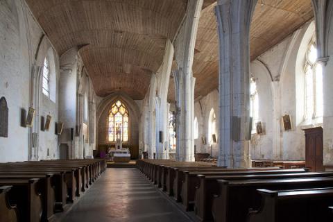 Foussais-Payré_intérieur de l'église <sup>©</sup>J.-P. Berlose