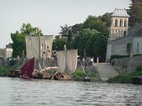 Le Thoureil_bateaux <sup>©</sup>A.Gillot